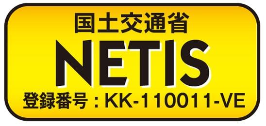 国土交通省 NETIS登録番号:KK-110011-VE