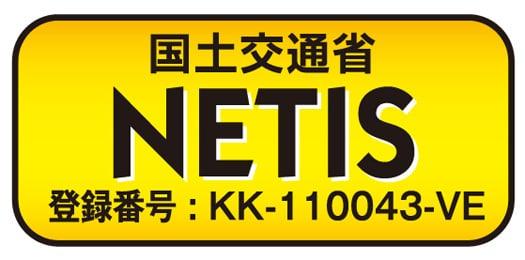 国土交通省 NETIS登録番号:KK-110043-VE